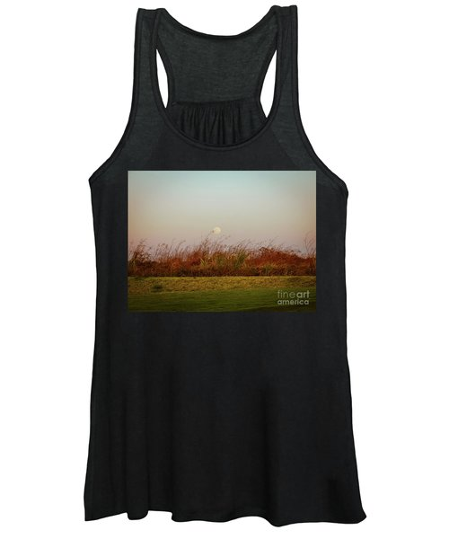 Moonscape Evening Shades Women's Tank Top