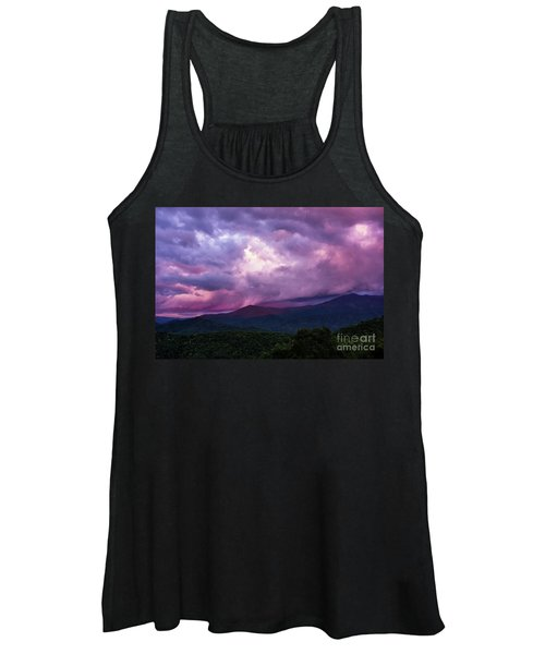 Mountain Sunset In The East Women's Tank Top