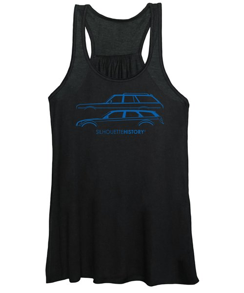 Muscle Wagon Silhouettehistory Women's Tank Top
