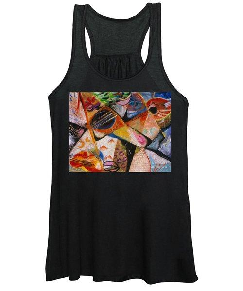 Musical Pastels Women's Tank Top