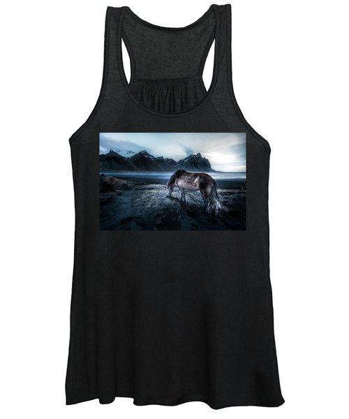Mystic Icelandic Horse Women's Tank Top