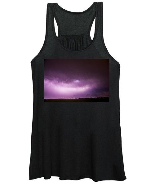 Nebraska Night Thunderstorms 013 Women's Tank Top