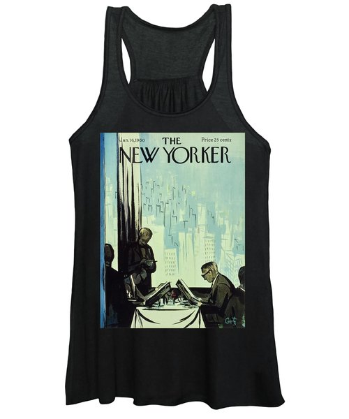 New Yorker January 16 1960 Women's Tank Top