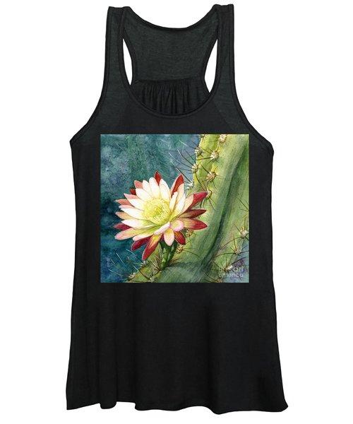 Nightblooming Cereus Cactus Women's Tank Top