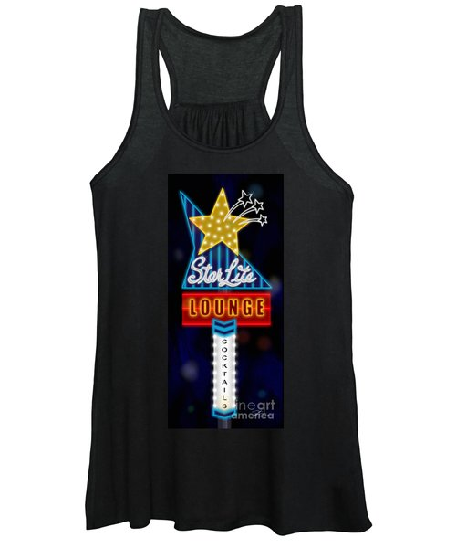 Nightclub Sign Starlite Lounge Women's Tank Top