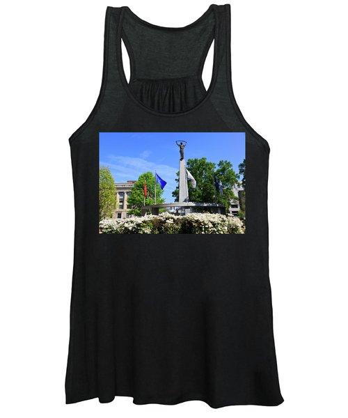 North Carolina Veterans Monument Women's Tank Top