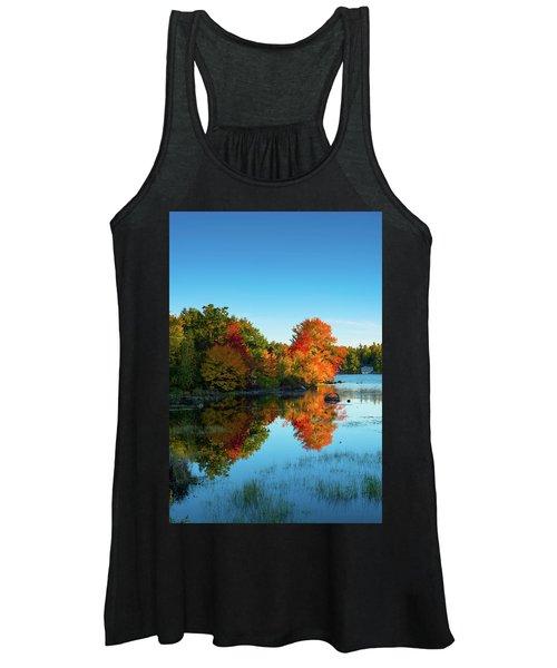 Northwood Lake Autumn Women's Tank Top