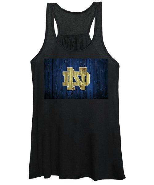 Notre Dame Barn Door Women's Tank Top