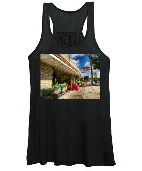 Off To The Market Women's Tank Top