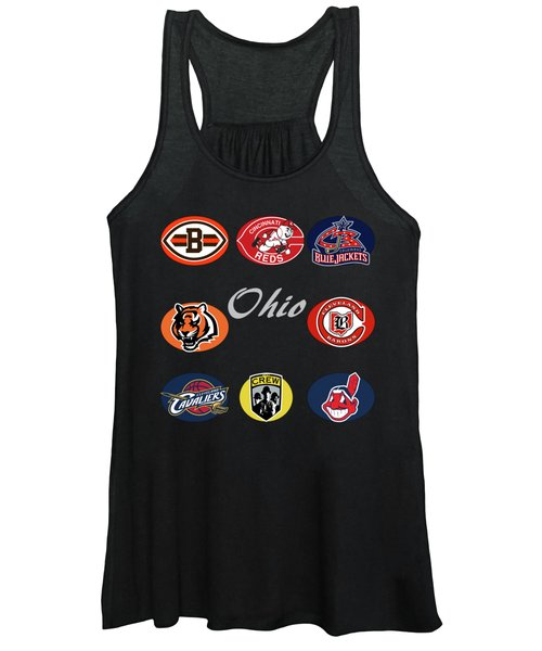 Ohio Professional Sport Teams Collage Women's Tank Top