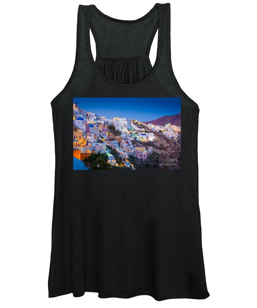 Oia Hillside Women's Tank Top