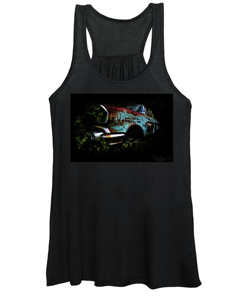 Old Blue Chevy Women's Tank Top