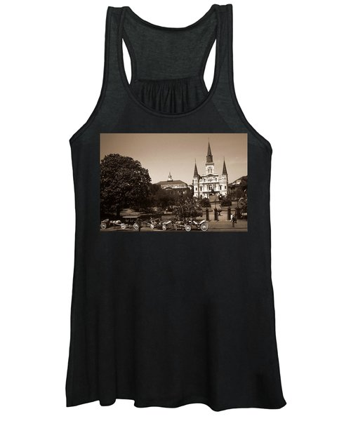 Old New Orleans Photo - Saint Louis Cathedral Women's Tank Top