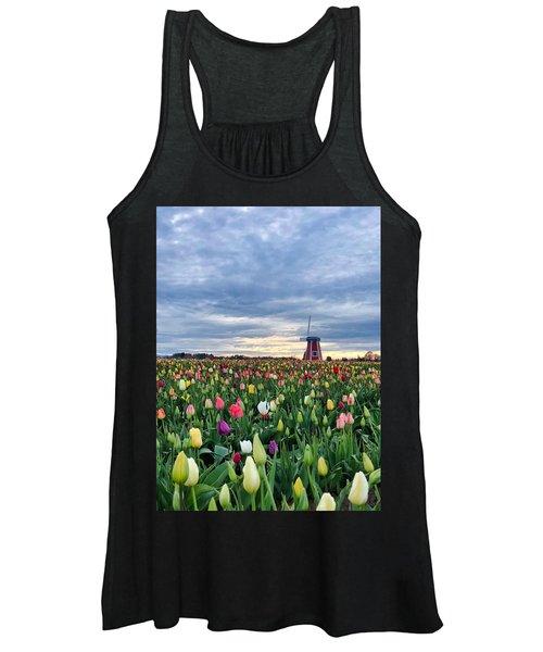 Ominous Spring Skies Women's Tank Top