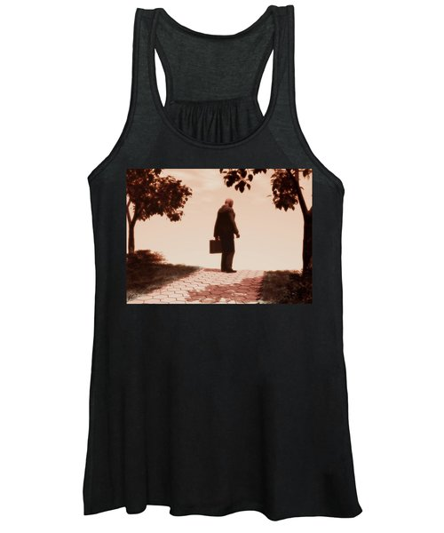 On The Path To Nowhere Women's Tank Top