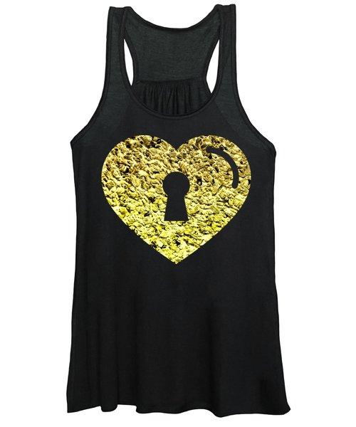 One Heart One Key 2 Women's Tank Top