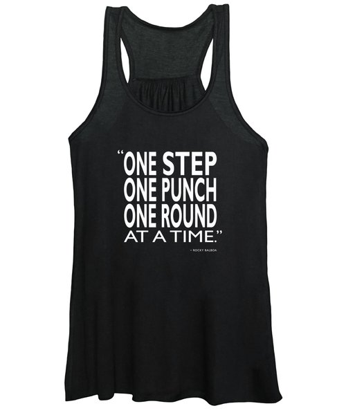 One Step One Punch One Round Women's Tank Top