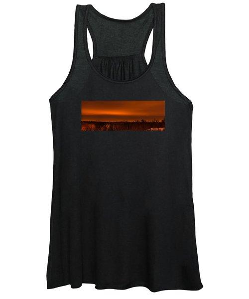 Orange Light Women's Tank Top
