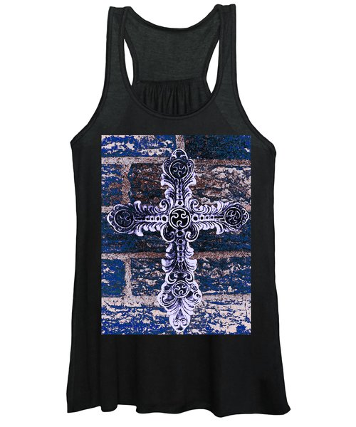 Ornate Cross 2 Women's Tank Top
