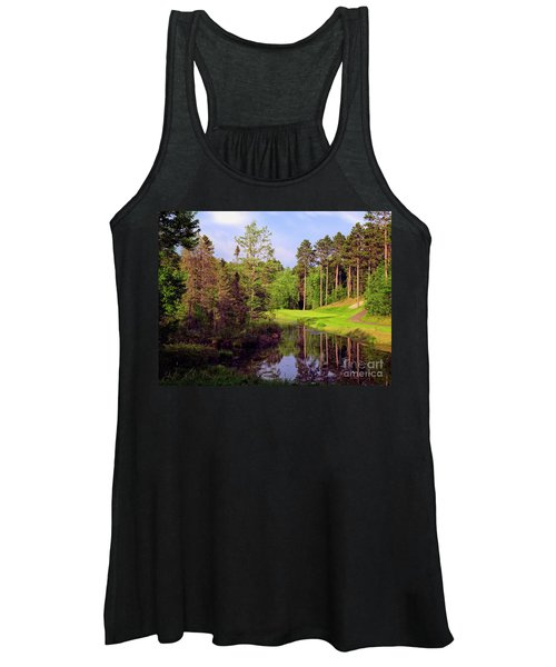 Over The Pond Women's Tank Top