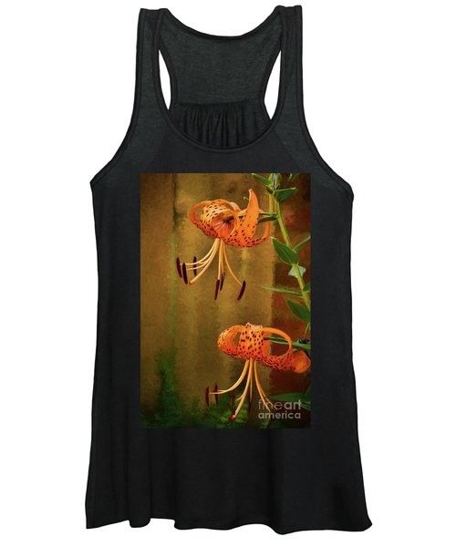 Painted Tigers Women's Tank Top