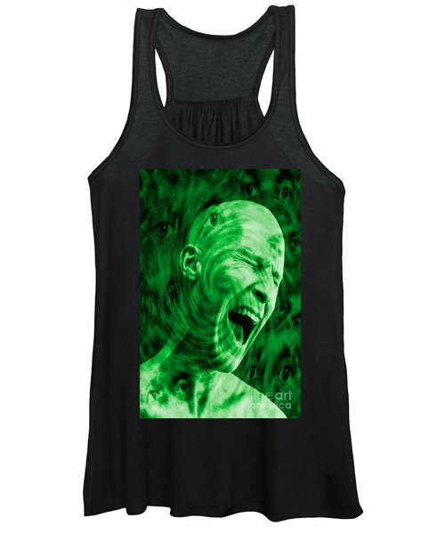Paranoid Personality Disorder Women's Tank Top