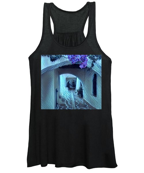 Paros Island Beauty Women's Tank Top