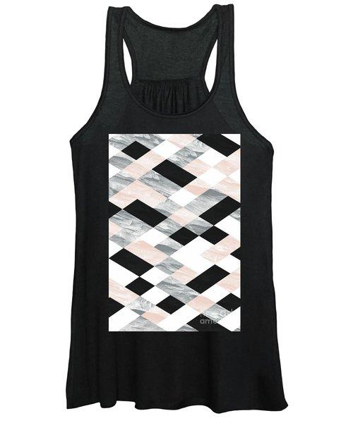 Pastel Scheme Geometry Women's Tank Top