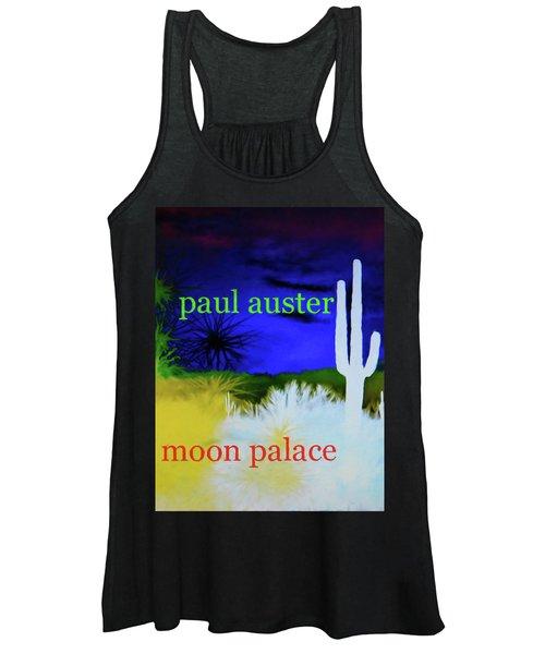 Paul Auster Poster Moon Palace Women's Tank Top