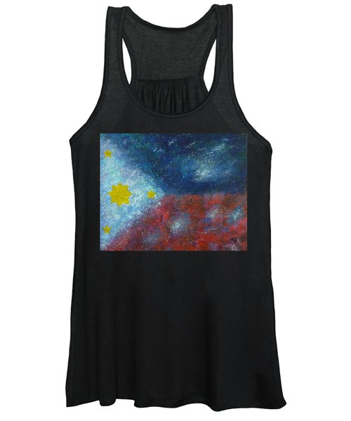 Philippine Flag Women's Tank Top