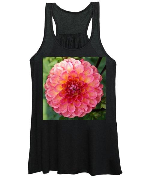 Pink Dahlia Women's Tank Top