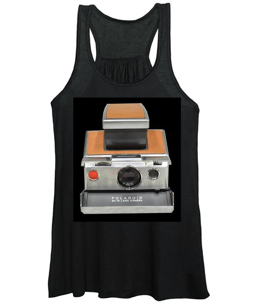 Polaroid Sx-70 Land Camera Women's Tank Top