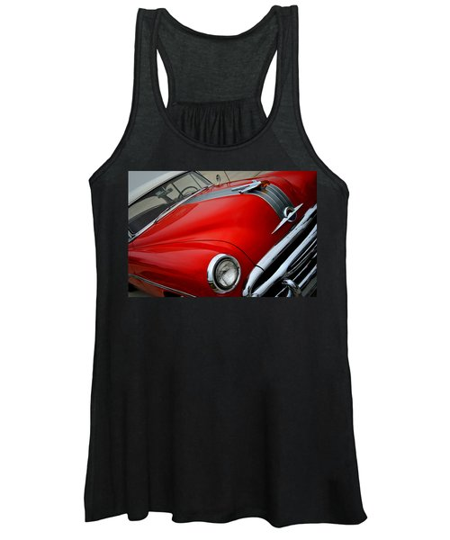 Pontiac Chieftain 1954 Front Women's Tank Top