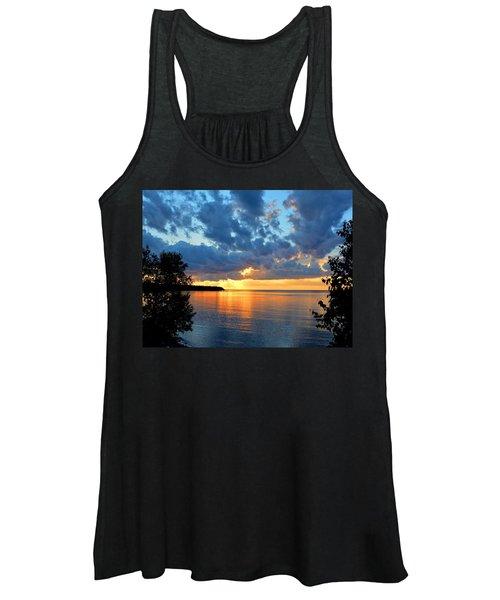 Porcupine Mountains Sunset Women's Tank Top