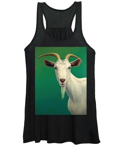 Portrait Of A Goat Women's Tank Top