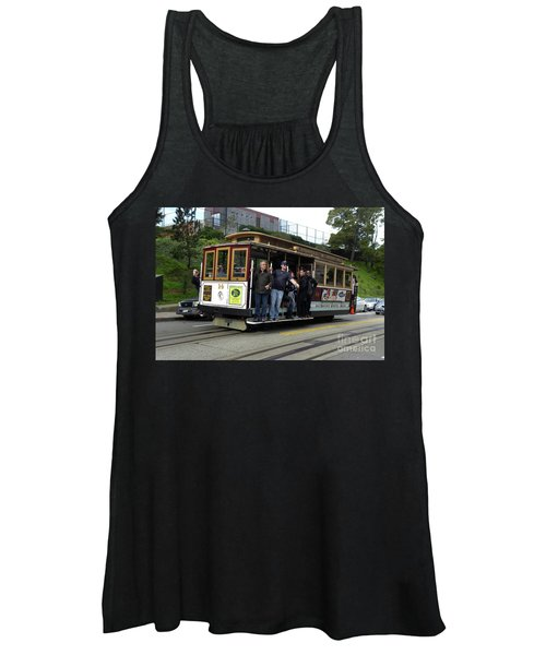 Powell And Market Street Trolley Women's Tank Top