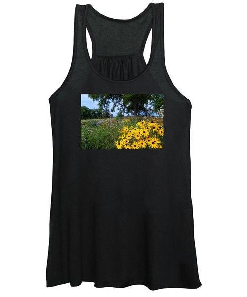 Prairie Wildflowers Women's Tank Top