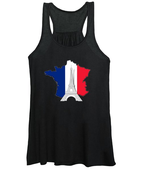 Pray For Paris Women's Tank Top