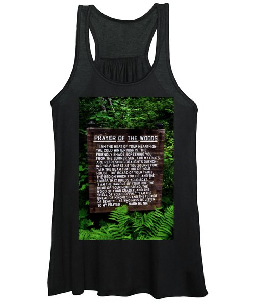 Prayer Of The Woods Women's Tank Top