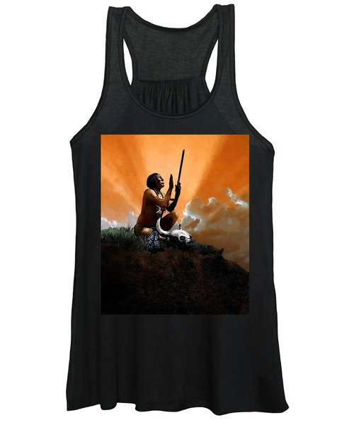 Prayer To The Great Mystery Women's Tank Top