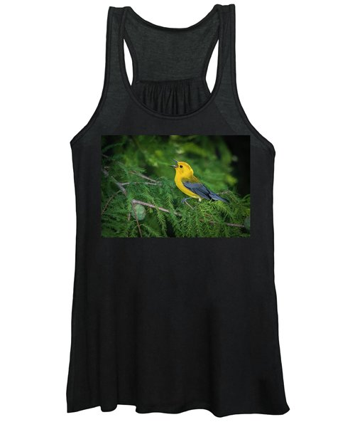 Prothonatory Warbler 9809 Women's Tank Top