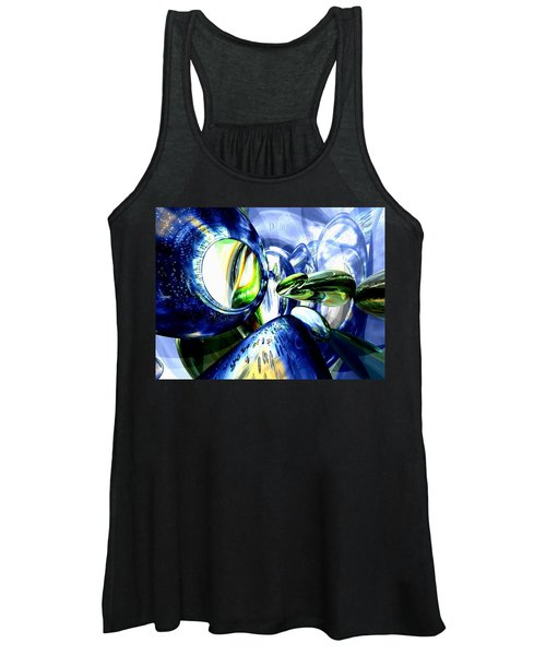Pulse Of Life Abstract Women's Tank Top