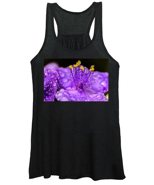 Purple Flower After The Rain Women's Tank Top