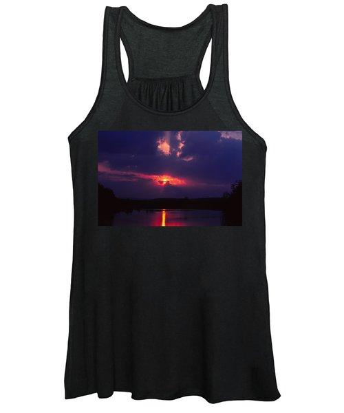 Purple Sunset Women's Tank Top