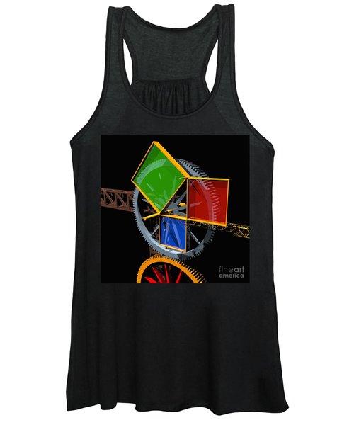 Pythagorean Machine Women's Tank Top