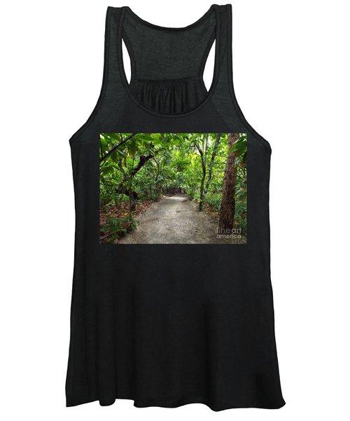 Rain Forest Road Women's Tank Top
