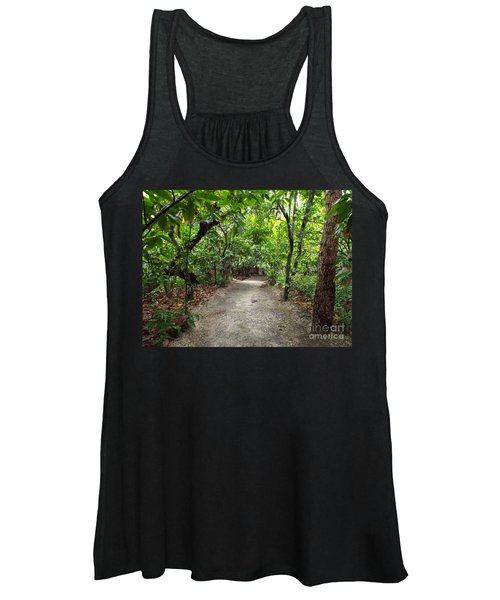 Rain Forest Road Women's Tank Top