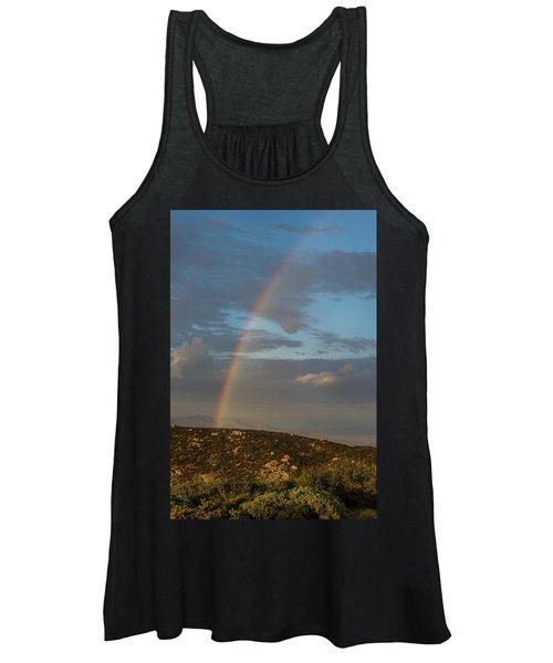 Rainbow Above Lagunas Women's Tank Top