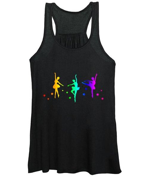 Rainbow Ballerins Women's Tank Top