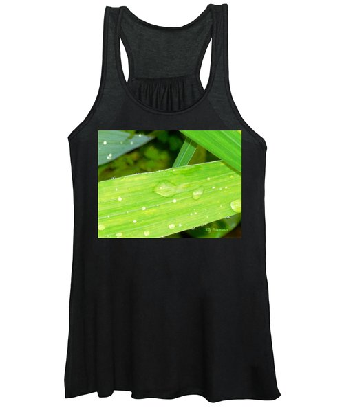 Raindrops Women's Tank Top